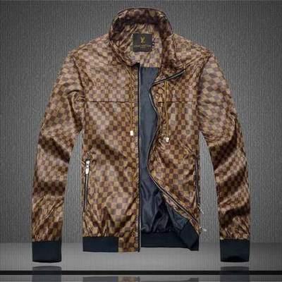 de4db7b6179 blouson Louis Vuitton noir